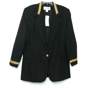 Vintage Robyn Meredith Oversized Blazer 100% Wool